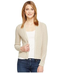 Lucky Brand Afternoon Cardigan Putty Women's Sweater Taupe