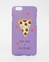 Asos Valentines Iphone 6 And 6S Case You Stole A Pizza My Heart Multi
