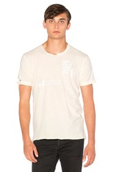 Homme Boy Dream Distressed Tee Beige