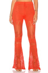 Minkpink Mixed Messages Pant Orange