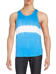 Alternative Apparel Tie Dye Tank Top Bright Blue