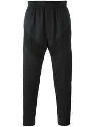Givenchy Mesh Panelled Trousers Black
