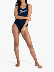 Speedo Heritage Shoshin Swimsuit Navy