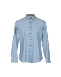 Siviglia Denim Denim Shirts Blue