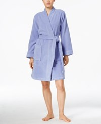 Charter Club Short Terry Robe Only At Macy's Easter Egg Blue