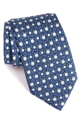 Vineyard Vines Men's 'Tee Time' Print Silk Tie