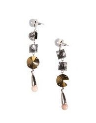 Fenton Earrings Silver