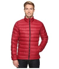 Adidas Light Down Jacket Collegiate Burgundy Utility Ivy Men's Coat Red