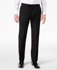 Bar Iii Men's Slim Fit Black Tuxedo Pants Only At Macy's