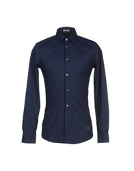 Iceberg Shirts Dark Blue