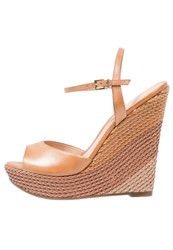 Aldo Kaelia Wedge Sandals Medium Brown