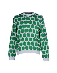 Peter Jensen Knitwear Jumpers Men Green