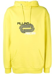 Filling Pieces Arrows Hoodie Yellow