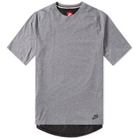 Nike Bonded Knit Tee Grey