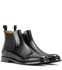 Church's Monmouth Leather Ankle Boots Black