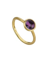 Marco Bicego 18K Gold Jaipur Stack Ring In Amethyst