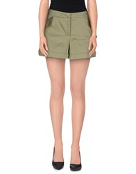 Harmontandblaine Trousers Shorts Women Military Green