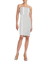 O'2nd Merzouga Sheath Dress Grey White