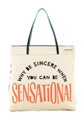 Jonathan Adler Why Be Sensational Small Tote Black