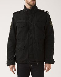 Denim And Supply Ralph Lauren Black M65 Military Parka