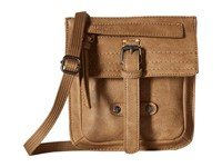 Sherpani Piper Eco Leather Cross Body Handbags Khaki