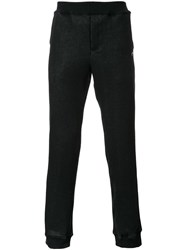 Loveless Elastic Waist Pants Black