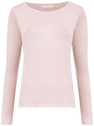 Cecilia Prado Natalina Knit Blouse Pink And Purple