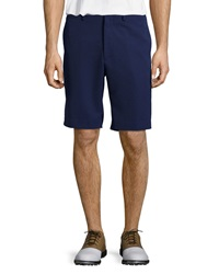 Bobby Jones Nanotex Flat Front Shorts Navy