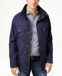Izod Men's Four Pocket Anorak Coat
