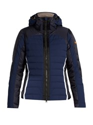 Capranea Global Ii Hooded Waterproof Ski Jacket Navy White