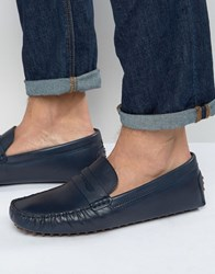 Aldo Rotenberg Driving Loafers Blue