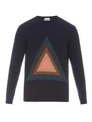 Paul Smith Graphic Triangle Wool Sweater