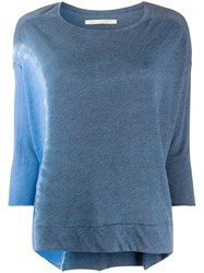 Raquel Allegra Cocoon Three Quarter Sleeved Top 60