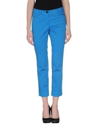 Marc Cain Casual Pants Azure