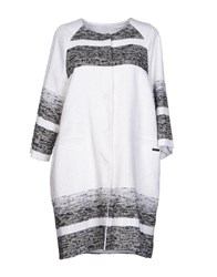 Byblos Overcoats White