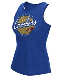 Adidas Women's Cleveland Cavaliers Well Rounded Rhinestone Tank Black