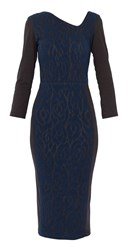 Maiocci Collection Midi Bodycon Dress Black