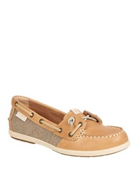 Sperry Coil Ivy Boat Shoe Tan
