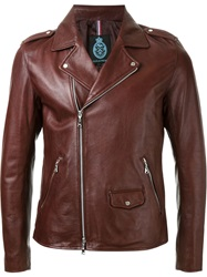 Guild Prime Classic Biker Jacket Brown