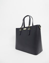 Carvela Structured Tote Bag In Black