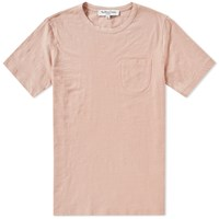 Ymc Wild Ones Slub Pocket Tee Pink