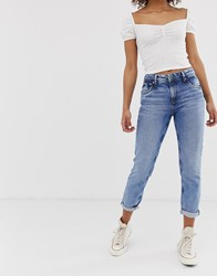 Pepe Jeans Violet Straight Cut Blue