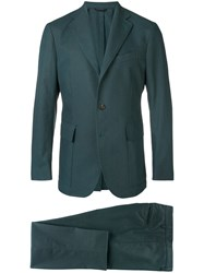 Doppiaa Formal Two Piece Suit Green