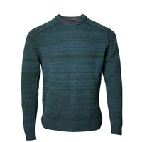 Lords Of Harlech Crosby Crewneck Sweater In Hunter Green
