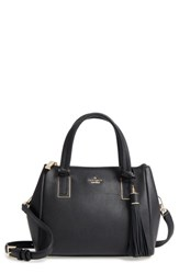 Kate Spade New York Kingston Drive Small Alena Leather Satchel Black