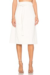 Citizens Of Humanity Donna Wrap Skirt Natural