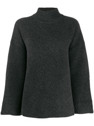 Le Kasha Antibes Knit Swing Jumper Grey
