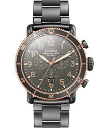 Shinola 48Mm Runwell Sport Chronograph Watch Gray
