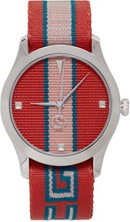 Gucci Red G Timeless Watch