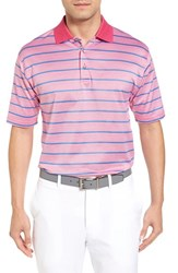 Bobby Jones Men's Xh20 Stripe Stretch Golf Polo